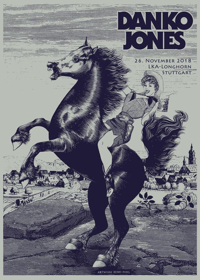Poster: Danko Jones - Stuttgart