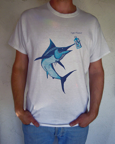 T-Shirt Design: Fight Plastic