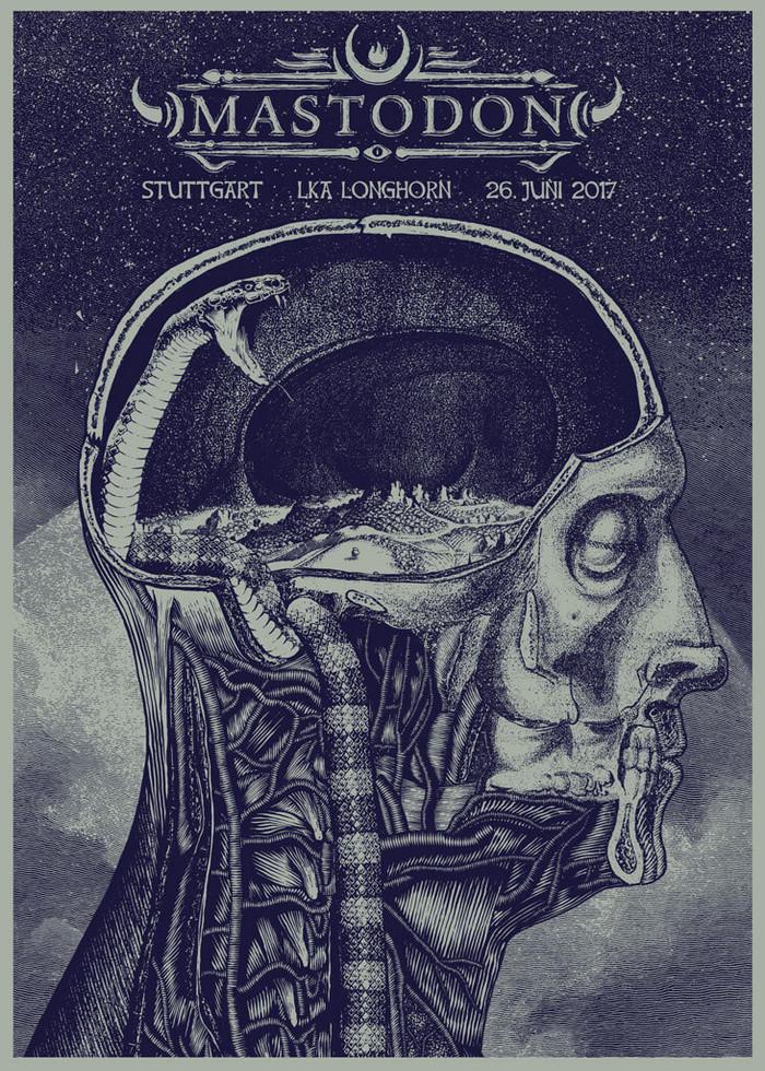 Poster: Mastodon - Stuttgart