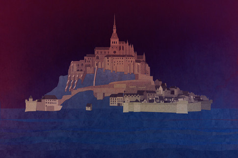 Illustration: Mont Saint Michel