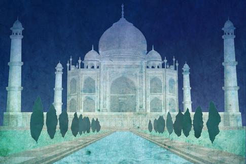 Illustration: Taj Mahal