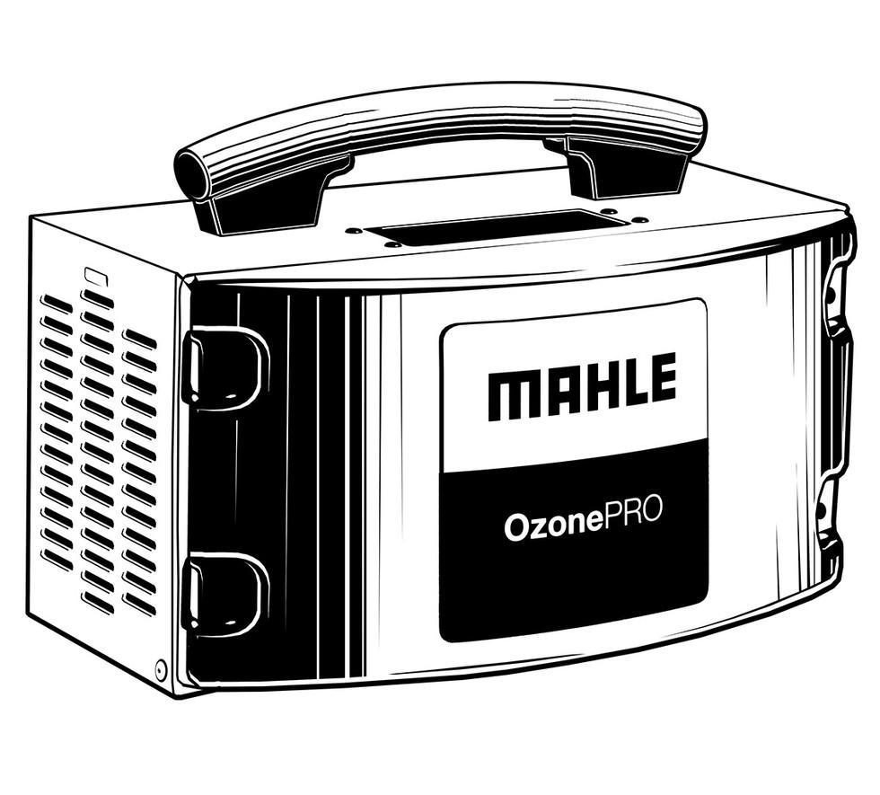 Vektorgrafik: Mahle OZONE Pro
