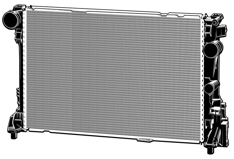 Vektorgrafik: Kühlmittelkühler