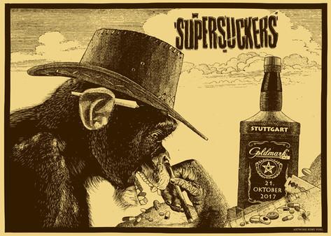 Poster: Supersuckers - Stuttgart
