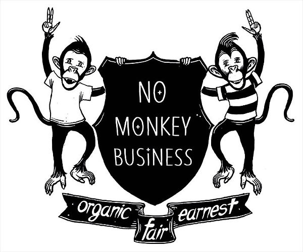 t-shirt-illustration-no-monkey-business-