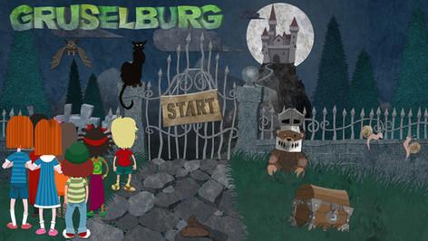 Game Design: Gruselburg - Burgtor