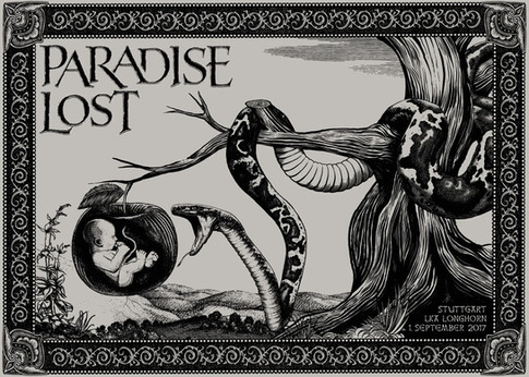 Poster: Paradise Lost - Stuttgart