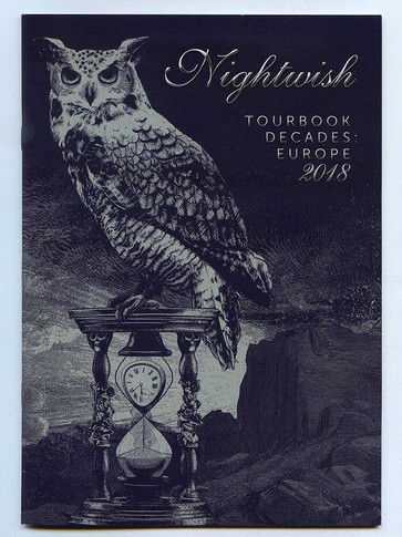 Tour Book & Poster: Nightwish - Decades 2018