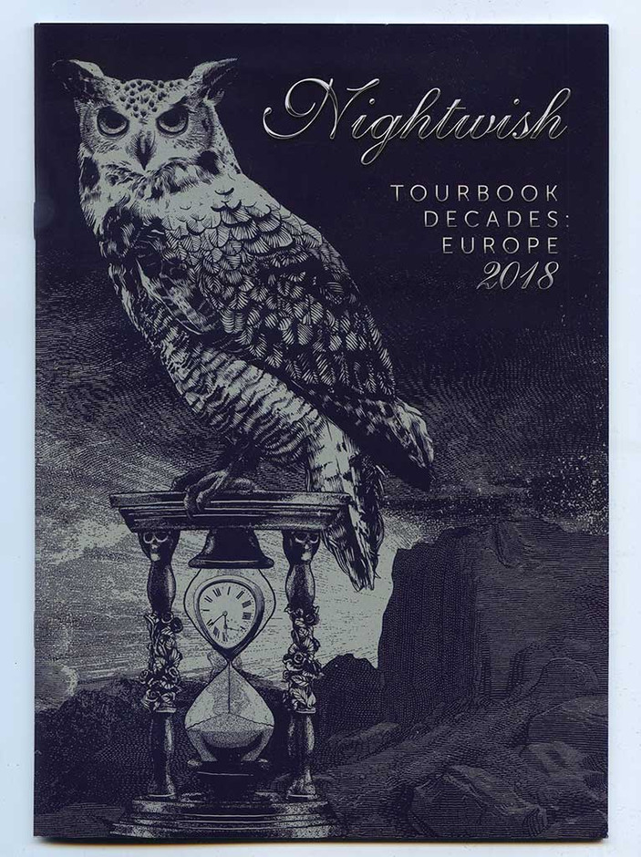 Tour Book & Poster: Nightwish - Decades 2018