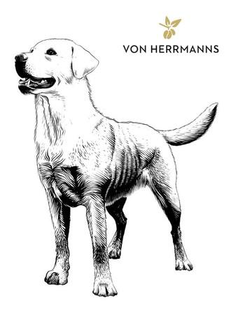 Verpackungsdesign: Von Hermanns Kaffee - Labrador