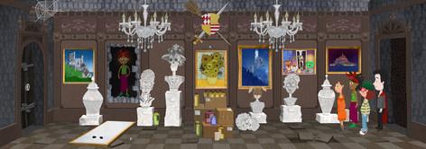 Game Design: Gruselburg - Galerie