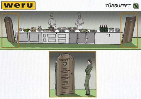 Konzeptvisualisierung: Weru - Buffet