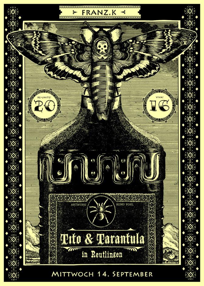 Poster: Tito & Tatantula - Reutlingen
