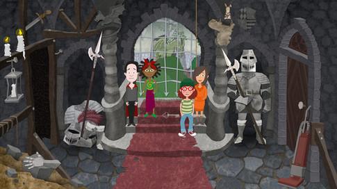 Game Design: Gruselburg - Eingangshalle