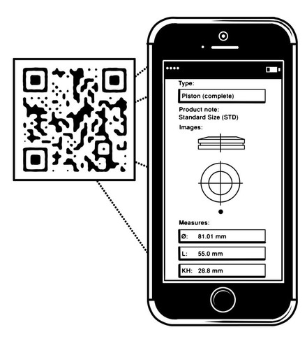 Vektorgrafik: Smartphone