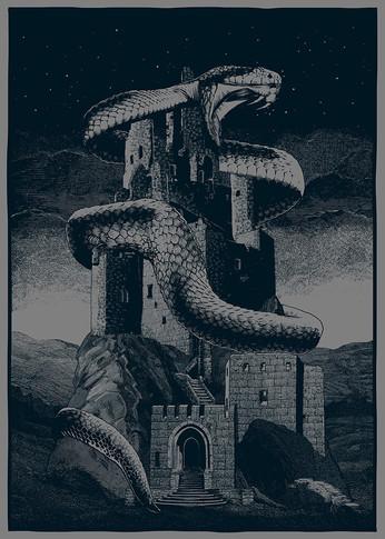 Poster: Dunkler Turm
