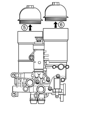 Piktogramm: Mahle Filterwechsel