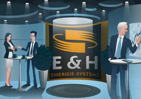Raumvisualisierung: E&H Mannesmann