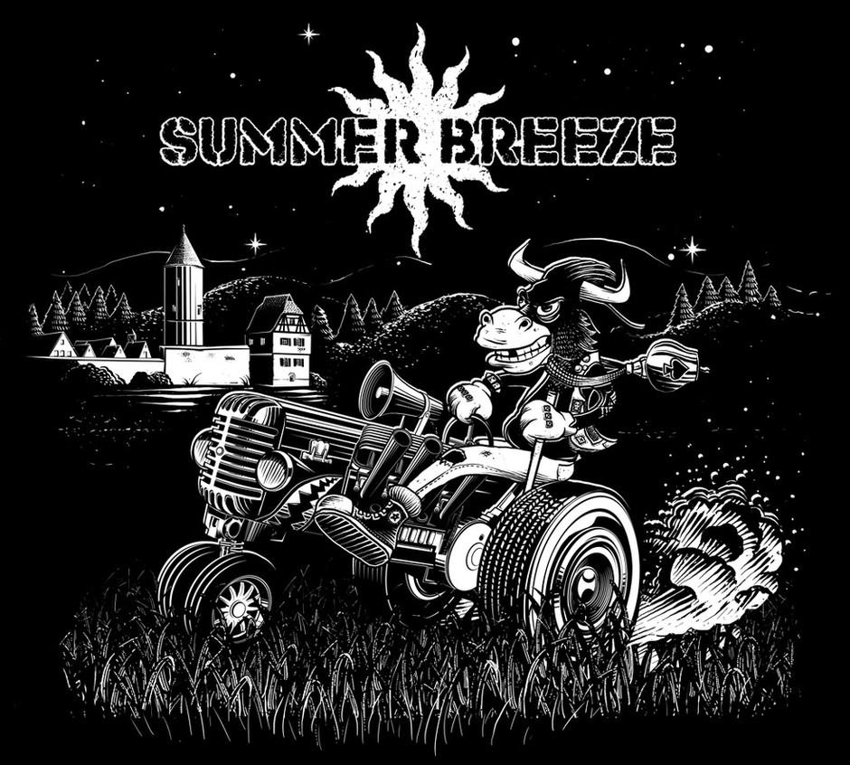 T-Shirt Design: Summer Breeze Festival