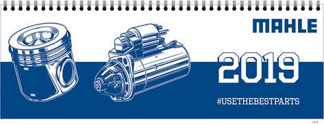 Grafik: Mahle Jahreskalender