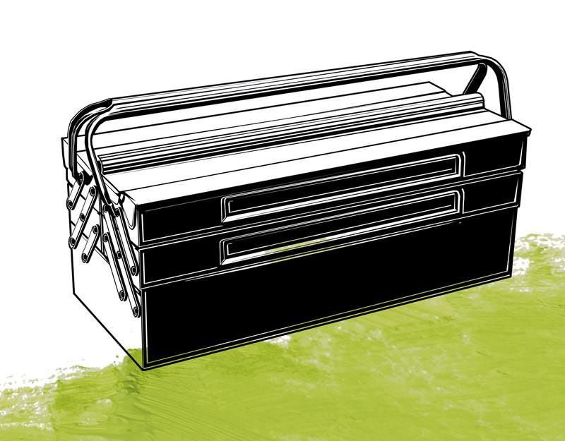 Illustration: Werkzeugkasten