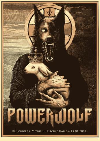 Poster: Powerwolf - Duesseldorf
