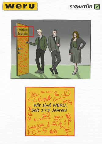 Konzeptvisualisierung: Weru - Signatuer
