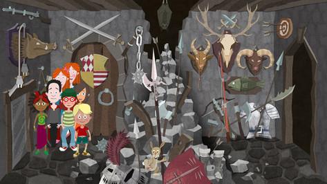 Game Design: Gruselburg - Jagtraum