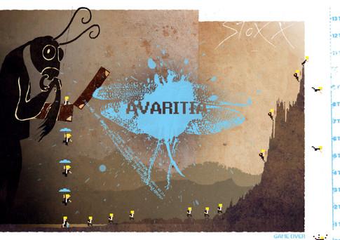 Mixed Media: Seven Sins - Avaritia