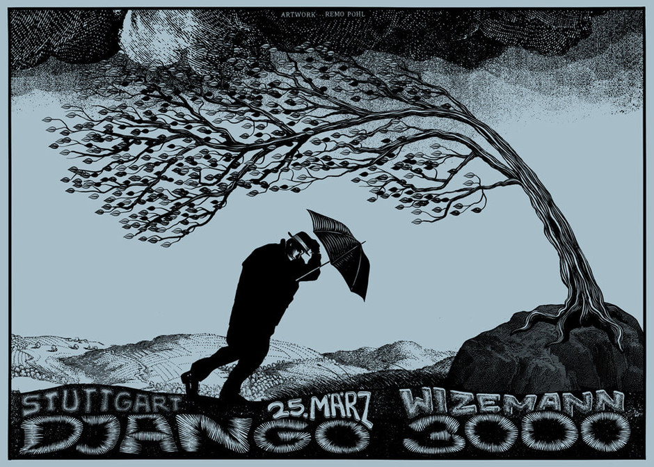 Poster: Django 3000 - Stuttgart