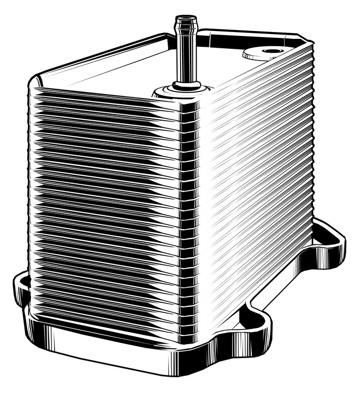 Vektorgrafik: Ölkühler