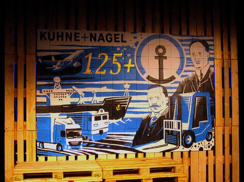 Life Painting: Kuehne + Nagel