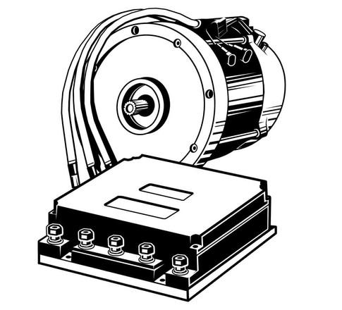 Vektorgrafik: Mahle Elektrische Antriebssysteme