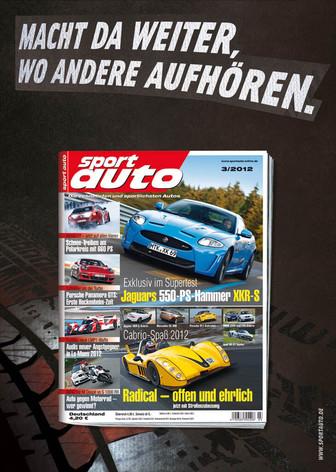 Werbeanzeige: Sport Auto