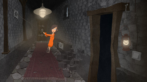 Game Design: Gruselburg - Geheimgang