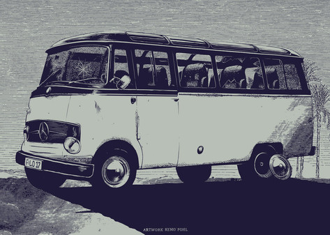 Illustration: Mercedesbus