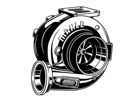 Vektorgrafik: Mahle Turbolader
