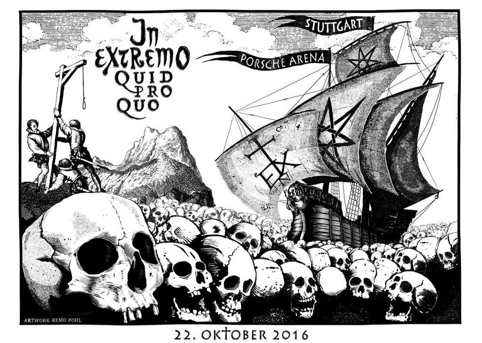 Poster: In Extremo - Stuttgart