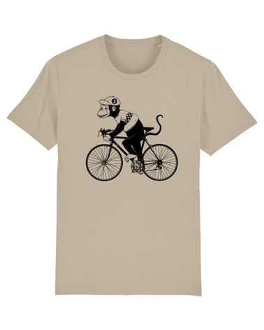 T-Shirt Design: Monkey Racer