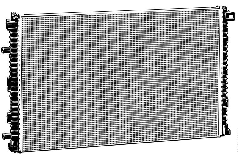 Vektorgrafik: Niedrigtemperaturkühler