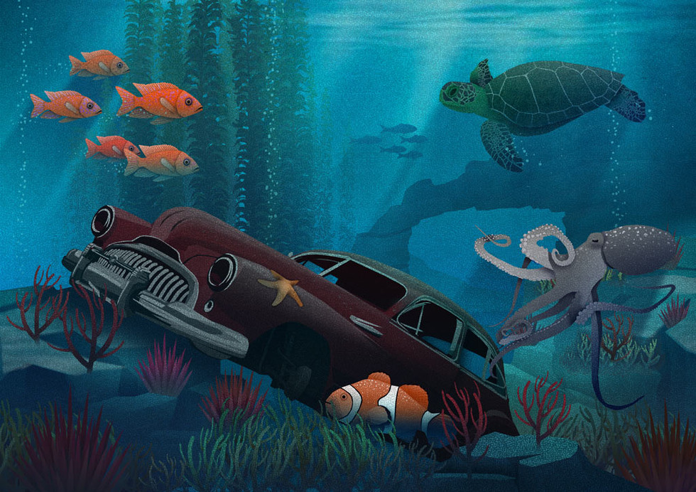 Illustration: Sunken Treasure