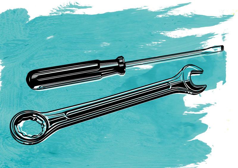 lllustration Werkzeug