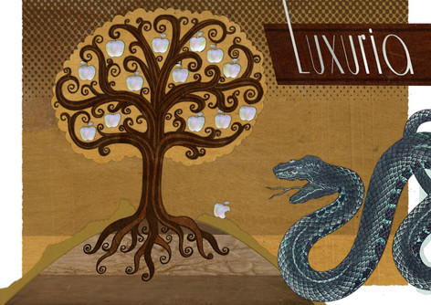 Mixed Media: Seven Sins - Luxuria