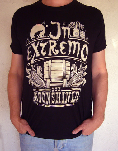 T-Shirt Design: In Extremo