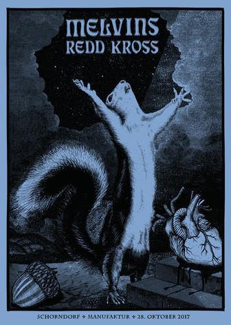 Poster: Melvins & Redd Kross - Schorndorf