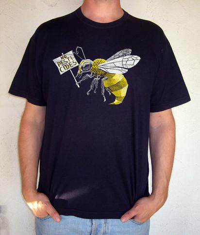 T-Shirt Design: No Pesticides