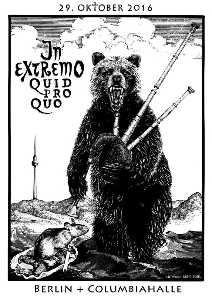 Poster: In Extremo - Berlin
