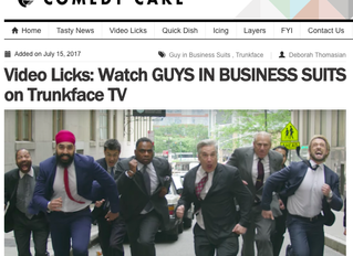 Guys In Business Suits Featured on ComedyCake.com!!