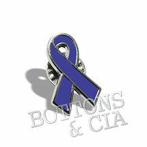 Botons e Pins Laço Novembro Azul Cancer Prostata