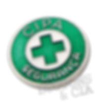 Botons Cipa Segurança Metal Chamado de Pin e Broche